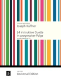 24 instruktive Duette in progressiver Folge für 2 Fagotte - laflutedepan.com