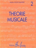 Théorie Musicale Volume 2 - Sophie Jouve-Ganvert - laflutedepan.com