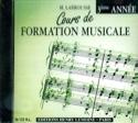 CD - Cours de Formation Musicale Volume 3 laflutedepan.com