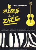 Le Puzzle à Zazie Marc Lajarrige Partition Guitare - laflutedepan.com