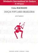 Danças populares Brasileiras Celso Machado Partition laflutedepan.com