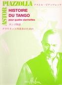 Histoire du tango - 4 Clarinettes Astor Piazzolla laflutedepan.com