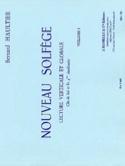 Nouveau Solfège – Volume 1 - Bernard Haultier - laflutedepan.com