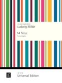 14 Trios - 3 Fagotte Ludwig Milde Partition Basson - laflutedepan.com