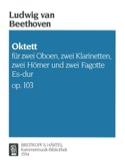 Oktett Es-Dur Op. 103 BEETHOVEN Partition Sextuors - laflutedepan.com