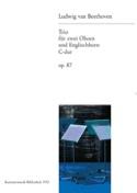 Trio C-Dur op. 87 -2 Oboen Englischhorn BEETHOVEN laflutedepan.com