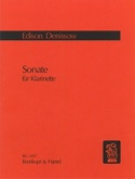 Sonate - Clarinette Seule Edison Denisov Partition laflutedepan.com