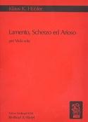 Lamento, Scherzo et Arioso - Klaus K. Hübler - laflutedepan.com