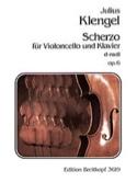 Scherzo d-moll op. 6 Julius Klengel Partition laflutedepan