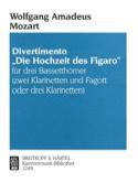 Divertimento Hochzeit des Figaro -3 Bassetthörner 2 Kl. Fag./3Kl. laflutedepan.com
