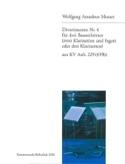 Divertimento Nr. 4 -3 Bassetthörner 2 Klar. Fag. / 3 Klar. laflutedepan.com