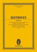 Septuor En Mi B Maj., Op. 20 - Conducteur BEETHOVEN laflutedepan.com