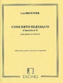 Concerto elegiaco - guitare et piano Leo Brouwer laflutedepan.com
