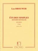Etudes Simples - 3ème Série - Leo Brouwer - laflutedepan.com