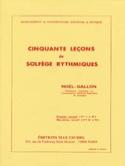 50 Leçons de Solfège Rythmiques Volume 1 - laflutedepan.com