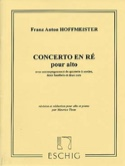 Concerto pour Alto Franz Anton Hoffmeister Partition laflutedepan.com