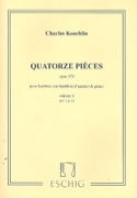 14 Pièces op.179 – Volume 1 - Charles Koechlin - laflutedepan.com