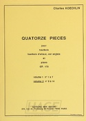 14 Pièces op.179 – Volume 2 - Charles Koechlin - laflutedepan.com