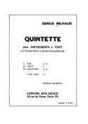 Quintette pour instruments à vent - Parties laflutedepan.com