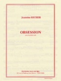 Obsession - Jeannine Richer - Partition - Hautbois - laflutedepan.com