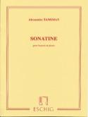 Sonatine pour basson et piano Alexandre Tansman laflutedepan.com