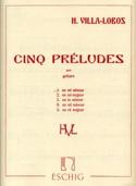Prélude n° 1 en mi mineur Heitor Villa-Lobos laflutedepan.com