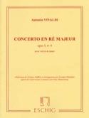 Concerto ré majeur op. 3 n° 9 VIVALDI Partition laflutedepan.com