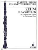 10 Bagatellen –Klarinette Klavier Friedrich Zehm laflutedepan.com