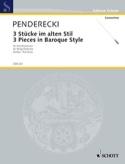 3 Stücke im alten Stil (1963) – Partitur - laflutedepan.com