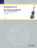 Der Schwanendreher 1935 Paul Hindemith Partition laflutedepan.com
