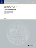 Divertissement - Stimmen Erwin Schulhoff Partition laflutedepan.com