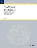Divertissement Stimmen - Oboe Klarinette Fagott laflutedepan.com