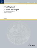L'heure du berger - 5 vents piano –Parties - laflutedepan.com
