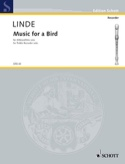 Music for a Bird Hans-Martin Linde Partition laflutedepan.com
