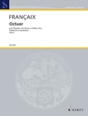 Oktett Octuor- Parties - Clarinette-Cor-Basson-2 Violons-Alto-Cello-Cbasse laflutedepan.com