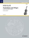 Prelude et Allegro - Pugnani Fritz Kreisler Partition laflutedepan.com
