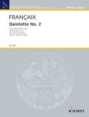 Quintette n° 2 1987 - Instruments à vent - Parties laflutedepan.com