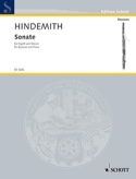 Sonate - Basson et Piano Paul Hindemith Partition laflutedepan.com