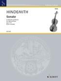 Sonate, op. 11 n° 4 Paul Hindemith Partition Alto - laflutedepan.com