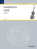 Sonate, op. 25 n° 1 - Paul Hindemith - Partition - laflutedepan.com