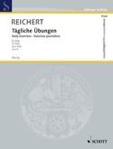 Tägliche Übungen op. 5 - Flöte Mathieu André Reichert laflutedepan.com