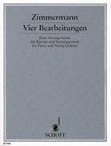 Vier Bearbeitungen – Klavier u. Streichquintett laflutedepan.com