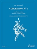 Concertino n°1 en la mineur Jean-Baptiste ACCOLAY laflutedepan.com