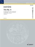 Trio Nr. 4 F-Dur - Altblockflöte Violine Cello HAYDN laflutedepan.com