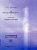 24 Etudes instructives op. 30 Joachim Andersen laflutedepan.com