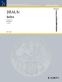 Solos (1740) –Fagott - Jean-Daniel Braun - laflutedepan.com