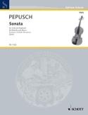 Sonata in D minor - Viola Johann Christoph Pepusch laflutedepan.com