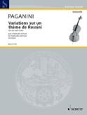 Variations sur une seule corde Niccolò Paganini laflutedepan.com