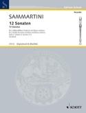 12 Sonaten - Heft 2 : Nr. 5-8 -2 Altblockflöten BC laflutedepan.com