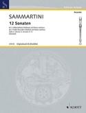 12 Sonaten - Heft 3 : Nr. 9-12 -2 Altblockflöten BC laflutedepan.com
